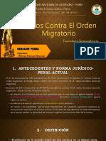 Delitos Contra El Orden Migratorio