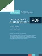 DASA DevOps Fundamentals Mock Exam English 2.0
