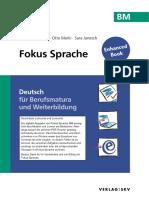 BM Fokus Sprache | Deutsch für die Berufsmatura und Weiterbildung