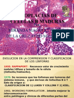 Neoplacias de Celulas b Maduras