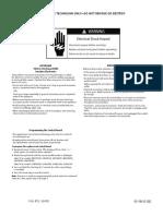 GE WAsher Mini Manual 31 16608