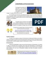 La Edad Media El Mio Cid Prerrenacimiento
