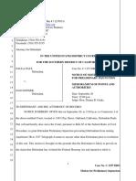federal preliminary injuction