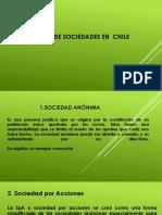 TIPOS DE SOCIEDADES EN  CHILE.pptx