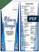 Programme 8th Araw Ng Parangal (1)