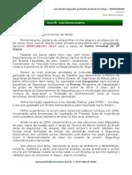 Leis Penais Especiais p/ Perito Criminal 3ª Classe – SEGPLAN/GO
