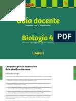 Llaves Biologia 4 Guia Docente