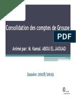 Encgc Support Consolidation Des Comptes