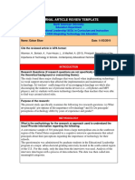 ob educ 5324-article review