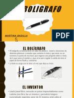 EL BOLIGRAFO.pptx