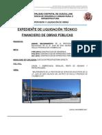 Informe Técnico de Liquidación