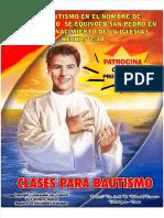 CLASES PARA BAUTISMO