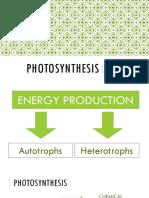 3 Photosynthesis