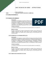 ESPECIFICACIONES TECNICAS  - ESTRUCTURAS.DOC
