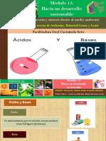 Ácidos y Bases – Teorías de Arrhenius, Brönsted-Lowry y Lewis/Módulo 15