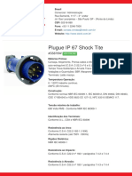 Plugue IP 67 Shock Tite - S5879W