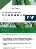2010 Green Brands Global