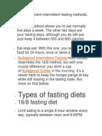 intermittent fasting methods.docx