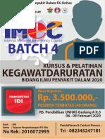 ANNOUNCEMENNT IMEC 4