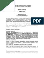 Analisis de Procesos Constitucionales