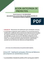 CLASIFICACION ANTICIPADA DE PROYECTOS.pptx