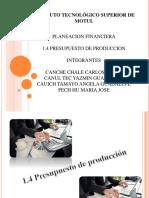 3º Presupuesto de producción.pptx