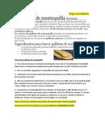 ACT 3 (2T) - EST25- 1E Recetas Galletas
