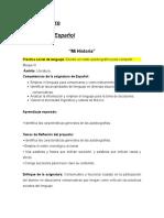 secuencia español autobiografias.doc