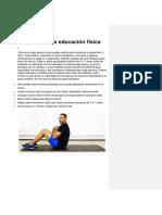 Ejercicios de Educación Física