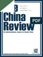 China Review, vol. 19, no. 4.