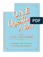 [2016] One Question a Day by Aimee Chase | A Five-Year Journal | Castle Point Books