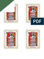 Tarjeta Virgen de Chapi