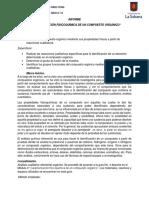 Informe Determinacion de un compuesto organico.docx