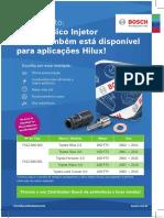 Bosch Folder Bicos Da Hilux