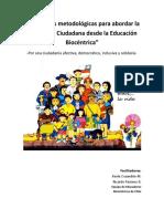 Estrategias Metodológicas Para Abordar La Formación Ciudadana Desde La Educación Biocéntrica v.final 2017