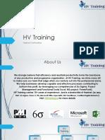 HV Training Profile PDF