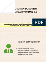 PENYUSUNAN DOKUMEN AKREDITASI PPI 9 DAN 9.1 (MINARNI).pdf
