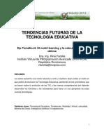 4-1-FAMILIA Rina Tendencias Futuras de La Tecnologia Educativa