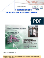 Pain Management in Hospital Accreditation