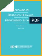 educando en derechos humanos IIDH
