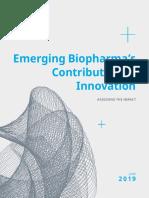 Emerging Biopharmas Contribution to Innovation