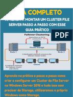 Guia Completo Configurar Cluster File Server No Windows Server 2016