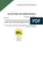 Precios Regulado Referencia Enero 2019 Vf