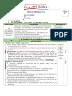 sesiones de aprendizaje 2DO-S20-03.12.19 -DICIEMBRE- CUARTO.doc
