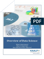 Overview and FAQ's on Data Science and Business Analytics