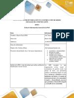 Ficha de Información General y Descriptiva