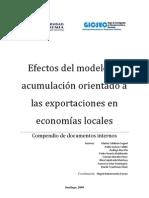 COMPENDIO-Efectos Del Modelo de Acumulacion Orientado a Las Exportaciones en Economias Locales-GICSEC