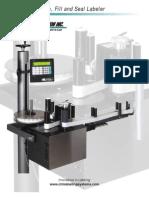 CTM 360 FFS Form, Fill & Seal Labeler