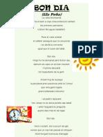 Bon Dia _els Pets_ Poesia