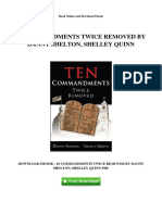 10 Commandments Twice Removed by Danny Shelton Shelley Quinn